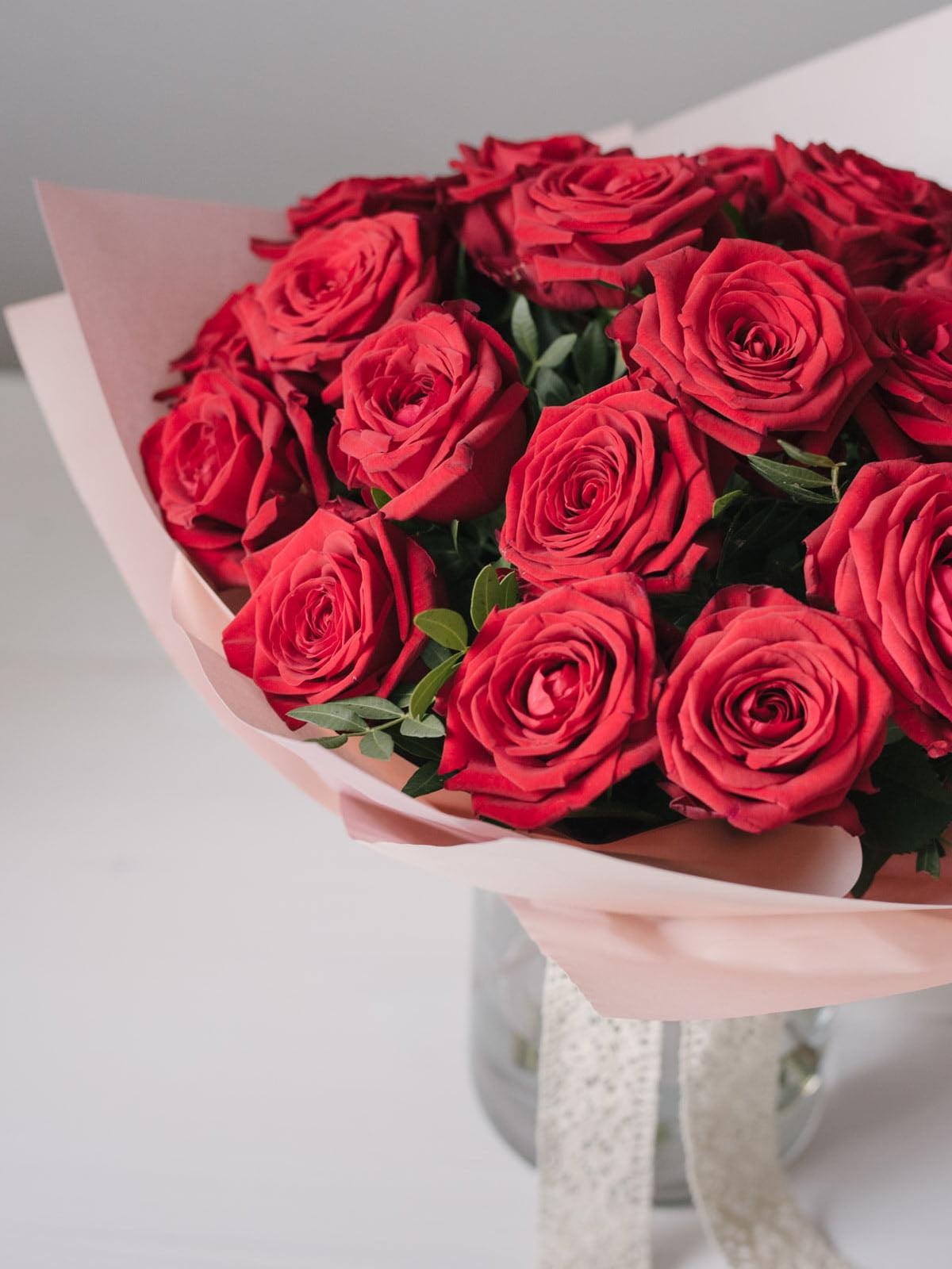 Buchet Cu 23 Trandafiri Rosii